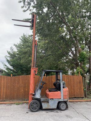 Forklift Toyota 5FGC25 Propane Triple Mast with Sideshift for Sale in Elsmere, DE