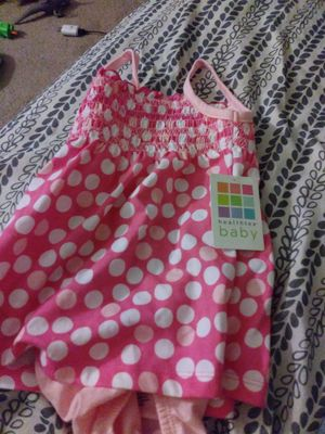 2 brand new 3 to 6 outfits for Sale in Denver, CO
