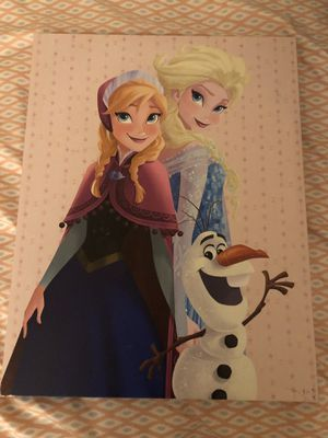 Elsa canvas for kids wall for Sale in Stoneham, MA