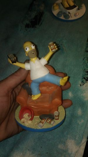 The Simpson Homer collecter figures.. for Sale in Perris, CA