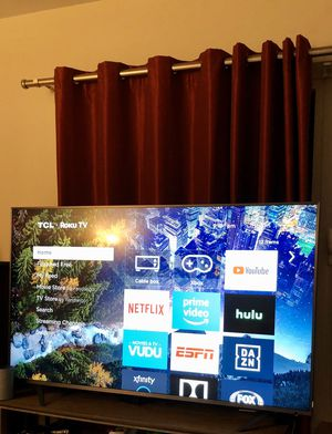 TCL 4K/Dolby vision Roku TV 65 INCH R615 model number for Sale in Watertown, MA