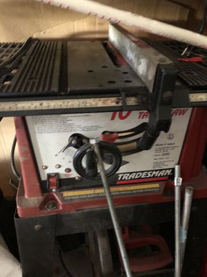 Tradesman bench table saw for Sale in Fort Myers, FL