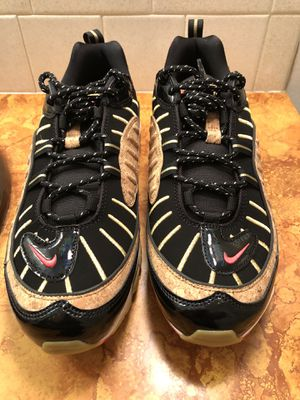 """Nike Air Max 98 """"New Year"""" Black Cork Red SZ 10 Running Shoes CT1173-001 for Sale in Wichita, KS"""