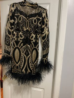 Stylish Black and Gold Dress for Sale in Randallstown, MD