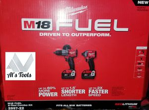 Milwaukee M18 fuel 3 rd gen drill set for Sale in Norwalk, CA