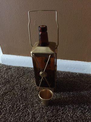 Old Vintage Liquor Musical Glass Decantor for Sale in Gladwyne, PA