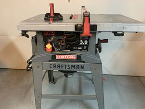 Craftsman 3.0 table saw for Sale in Hacienda Heights, CA