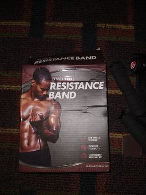 25 LB Resistance Bands NEW* for Sale in Bloomington, IL