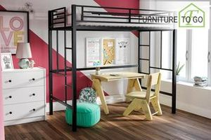 Twin loft bed frame for Sale in Dallas, TX