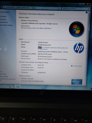 HP Laptop 2000 for Sale in Smyrna, TN