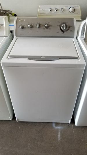 HEAVY DUTY WHIRLPOOL WASHER 30 DAYS WARRANTY for Sale in Columbus, OH