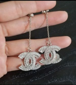 Cz diamond dangle earrings for Sale in Austin, TX