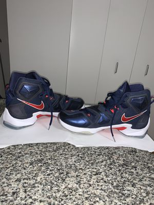 LEBRON JAMES NIKE BASKETBALL SHOES SIZE 10.5 for Sale in New York, NY