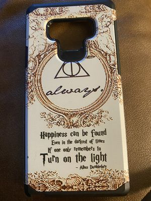 Samsung note 9 Harry Potter case for Sale in Cartersville, VA