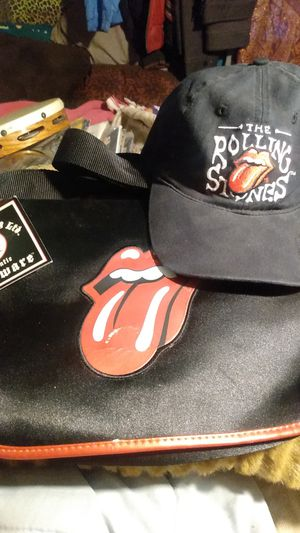 The Rolling Stones hat and purse for Sale in Sacramento, CA