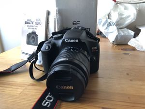 Canon EOS Rebel T6 Digital Camera + 18-55mm lenses + 75-300mm lenses for Sale in Los Angeles, CA