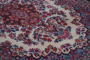 Signed Persian Mood wool rug semi–antique 5'x7' for Sale in Rockville, MD