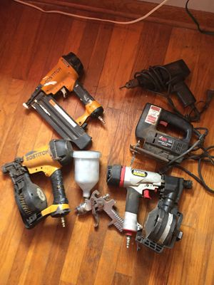 Bostitch nail guns and more $$$MAKE~OFFER$$$ for Sale in Willoughby, OH