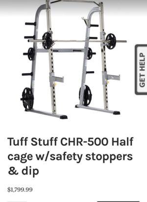Tuff Stuff CHR-500 Half cage for Sale in Diamond Bar, CA