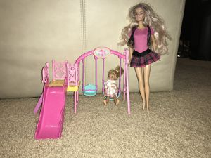 barbie swing and slide set for Sale in Durham, NC