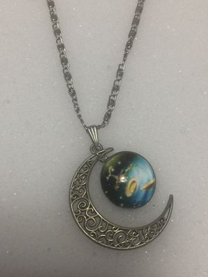New moon necklace for Sale in Old Bridge Township, NJ