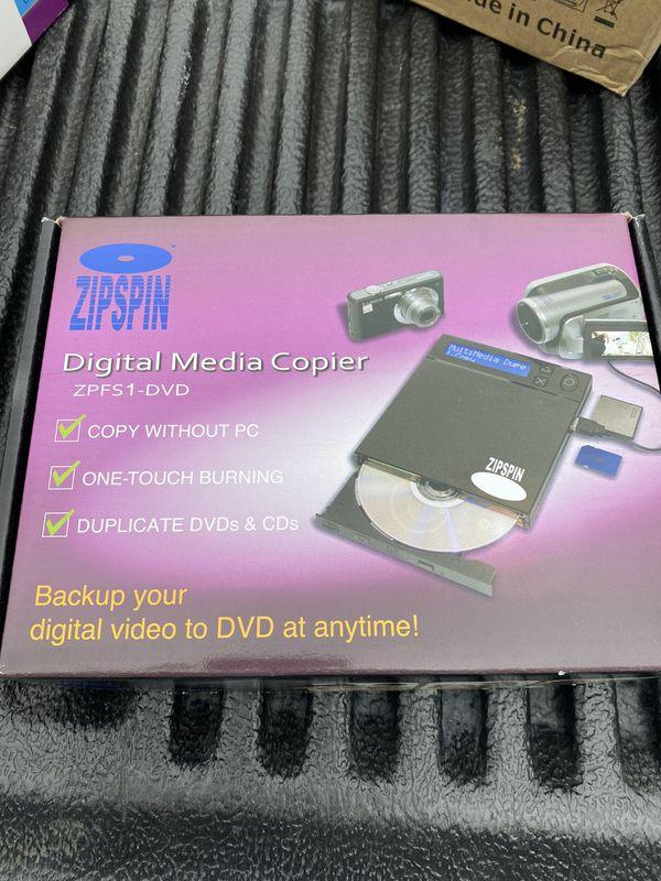 Digital media copier