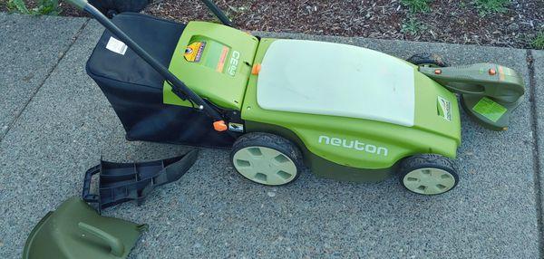 Neuton battery powered mower
