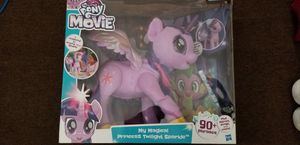 My little pony my magical princess twilight sparkle for Sale in Pawtucket, RI