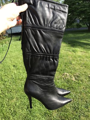 Bandolino black heels boots for Sale in Fairfax, VA