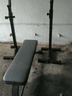 Squat Rack And Bench for Sale in Gresham,  OR