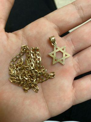 22 inch 10k gold Chain for Sale in Stockton, CA