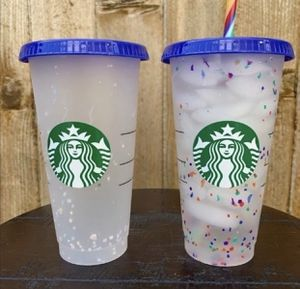 Starbucks confetti color changing 2020 collection for Sale in Lynwood, CA