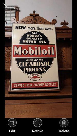 MOBILOIL GARGOYLE PETRO SIGN for Sale in Lynchburg, VA
