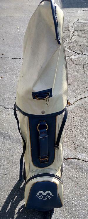 Vintage Rams football golf bag cart for Sale in Los Angeles, CA