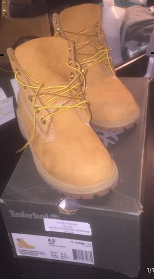 Timberland boots size 4.5 for Sale in Tampa, FL