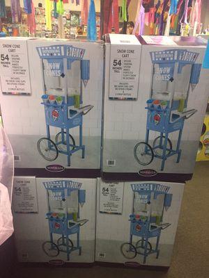 54 inch Tall SnowCone Machines New for Sale in Modesto, CA