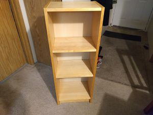 3 shelf bookshelf for Sale in Shoreline, WA