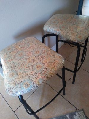 2 bar stools Good condition for Sale in Whittier, CA