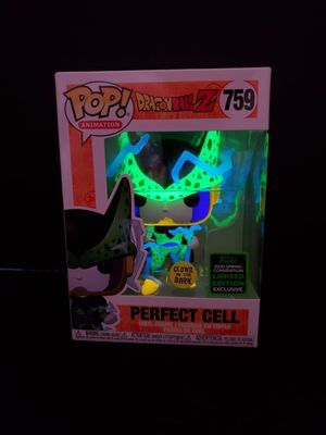 PERFECT CELL DRAGONBALL Z GITD EXCLUSIVE FUNKO POP 759 for Sale in Anaheim, CA