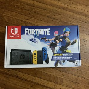 Nintendo Switch Bundle Fortnite Edition Brand New In Box for Sale in East Windsor, CT