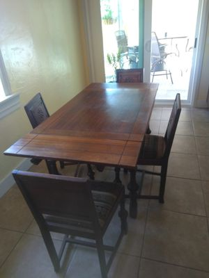 Wood table for Sale in Santee, CA