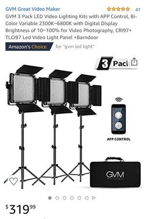 LED photo lighting kit for Sale in Fullerton, CA