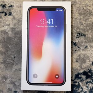 iPhone X - Space Gray - 256GB - Excellent Condition for Sale in Los Angeles, CA
