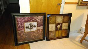 Decorative frames 30x30 for Sale in Schiller Park, IL
