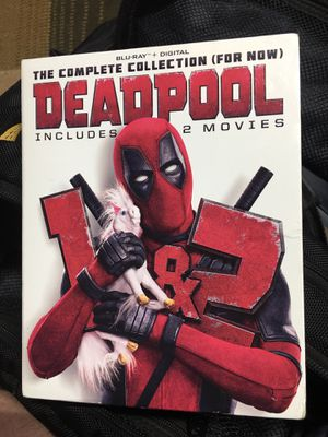 Blu-ray's Deadpool 1-2 combo for Sale in White Hall, AR