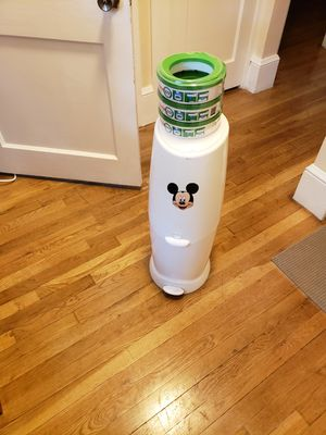 Diaper pail with refills for Sale in Brockton, MA