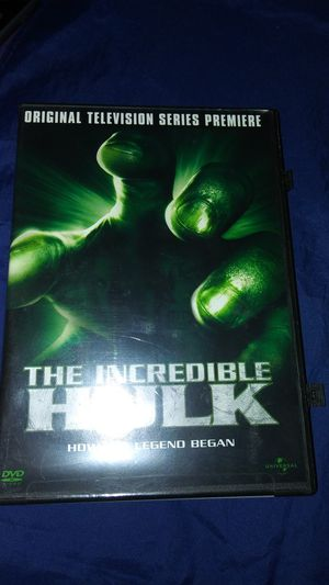 Animated Movie The Incredible Hulk how the legend began for Sale in East Los Angeles, CA