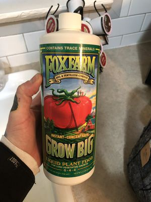 FOX FARM grow nutrients + more for Sale in San Diego, CA