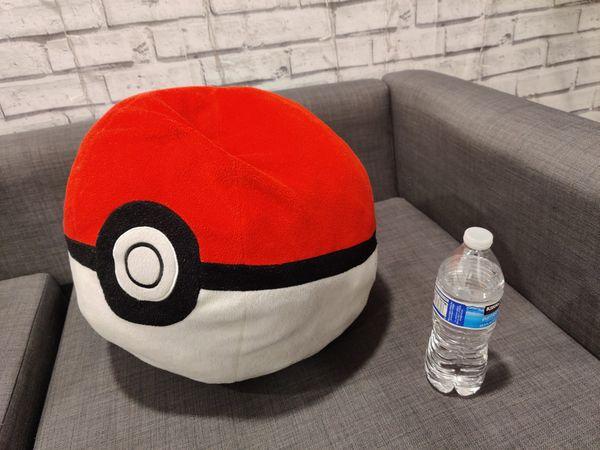 Pokemon ball pillow