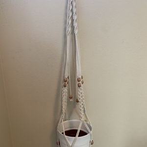 Macrame plant hanger With Beads for Sale in Brea, CA